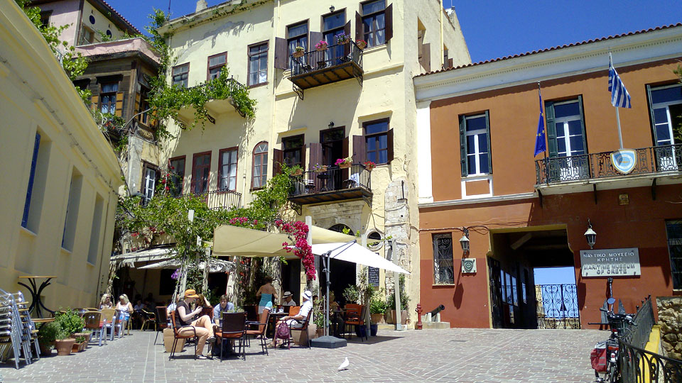 Traditional Pension LENA in the Old Town Chania Crete